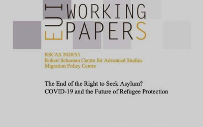 The end of the right to seek asylum? : COVID-19 and the future of refugee protection
